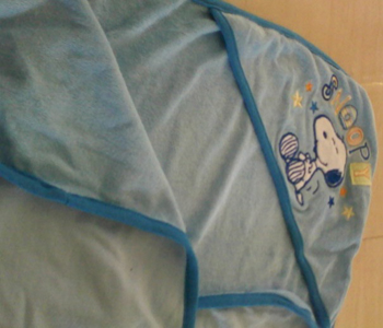 FRENCH TERRY BABY TOWEL